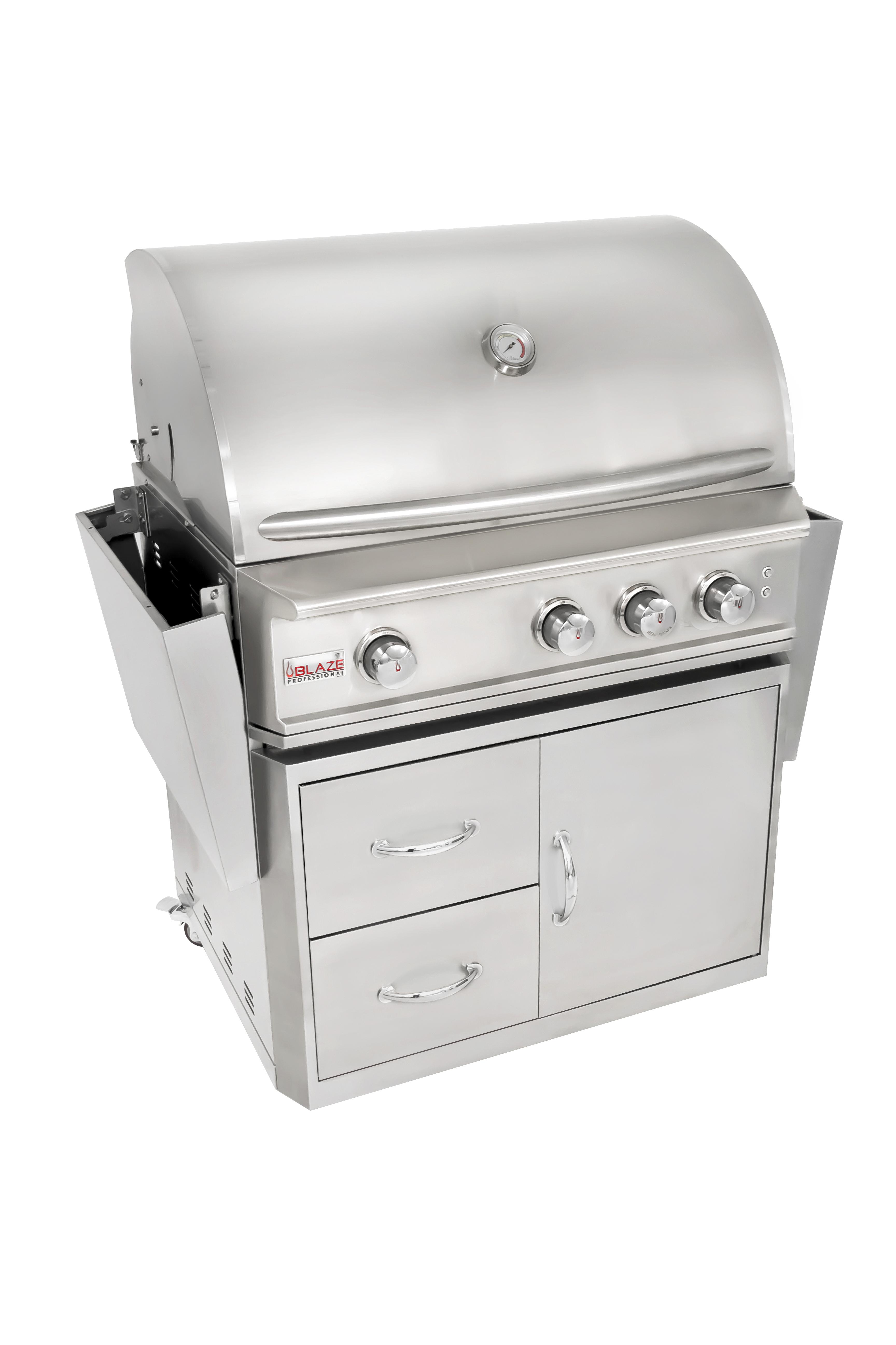 best of backyard blaze grills u2013 3 burner professional gas grill