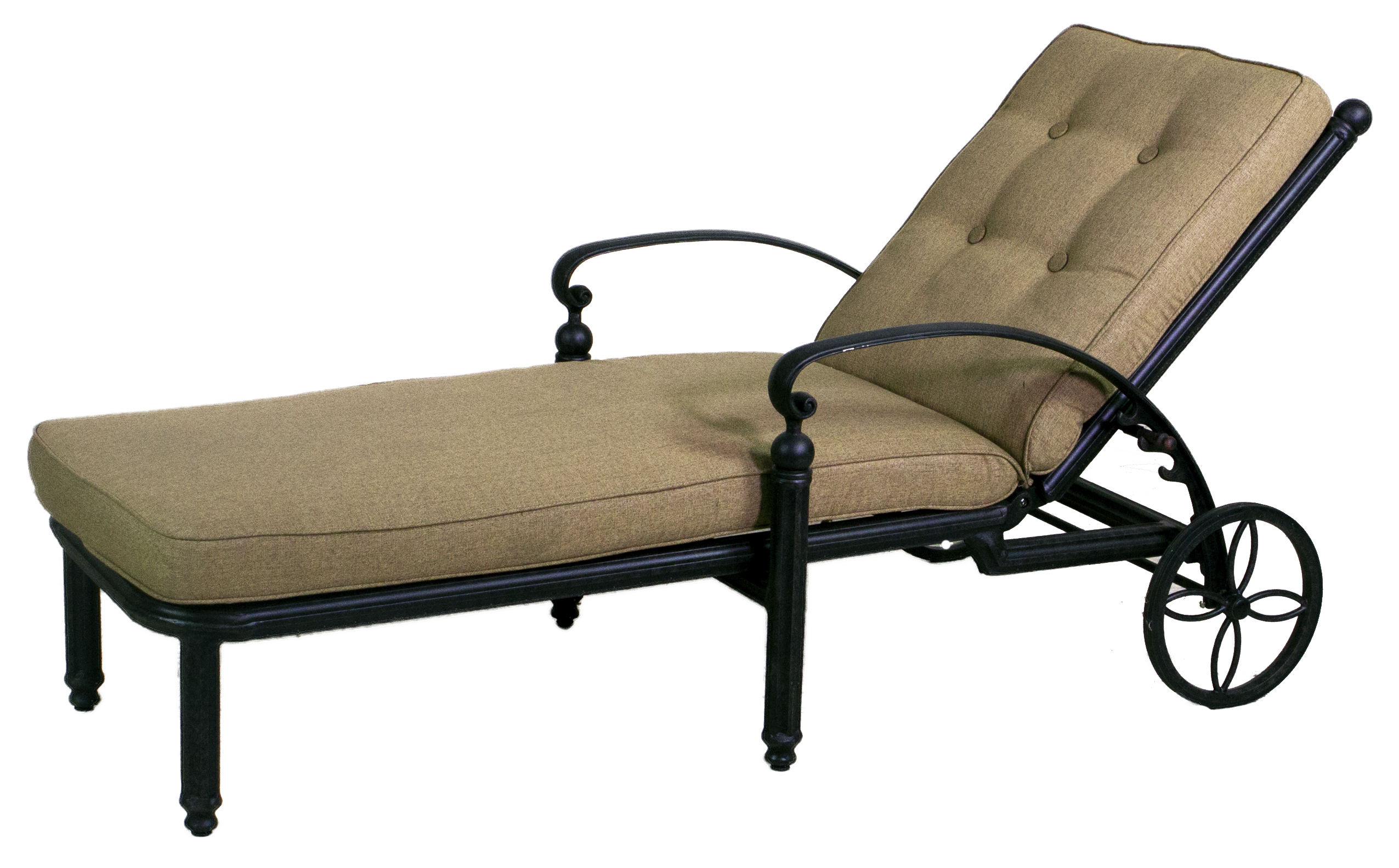 Best of backyard basso collection chaise lounge set for Best chaise lounge