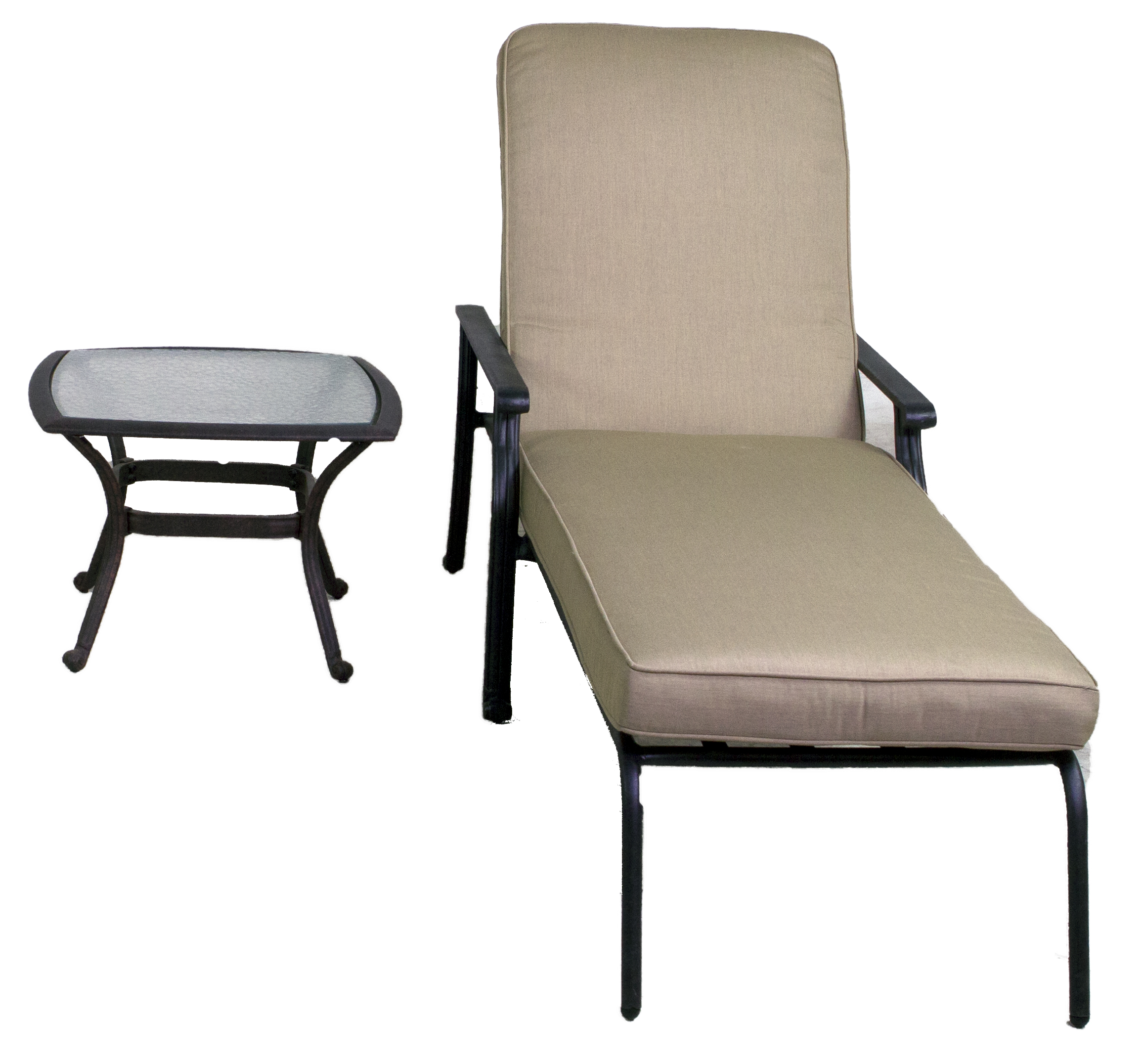 Best of backyard rosemead collection chaise lounge set for Best chaise lounge