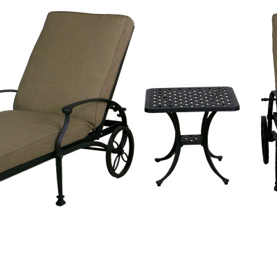 Best Of Backyard Florence Collection Chaise Lounge Chair Set