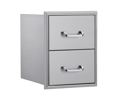 OCI Grills – 16″ Double Drawer