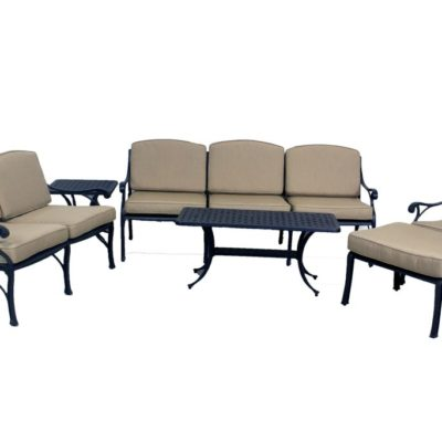 Royal Terrace Patio Furniture : Best Of Backyard Le Terrace Collection  Loveseat Sofa ...