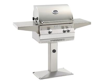 Fire Magic – Aurora A430S 24″ Pedestal Post BBQ Grill