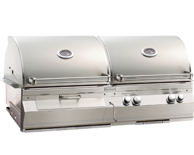 Fire Magic – Aurora 830i Gas & Charcoal Combo BBQ Grill