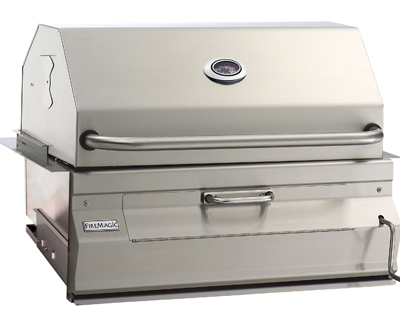 Fire Magic – 24 Inch Charcoal Built In BBQ Grill