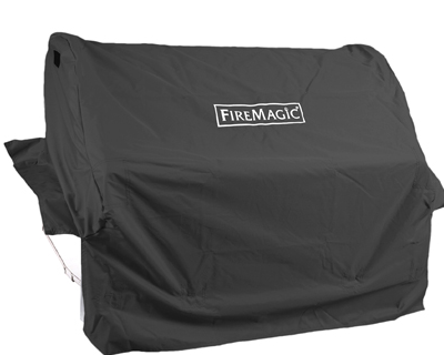 grill cover built in