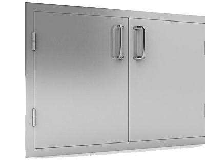 00 30 inch double door