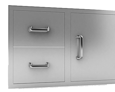 00 double door and drawer combo