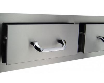 00 horizontal double drawers