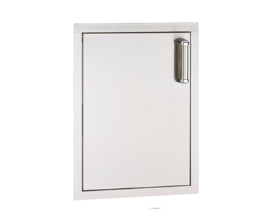 flush single access door