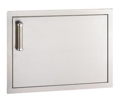 flush single horizontal access door 18