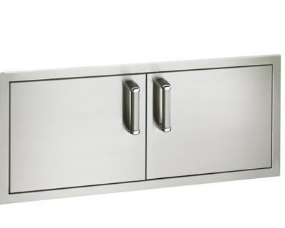 flush double doors 16 x 39