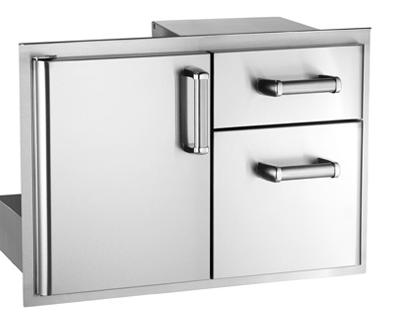 premium access door w double drawer