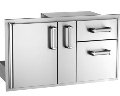 premium access door w platter storage