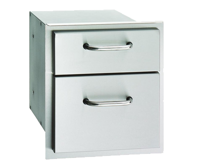 AOG double access drawer