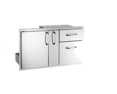 AOG door and double drawer w platter